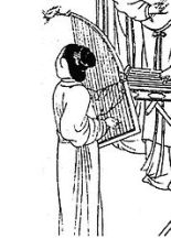 Imagen de un Konghou antiguo. Fuente: Wikipedia